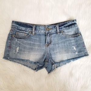 PINK Victoria's Secret Denim Shorts Size 0